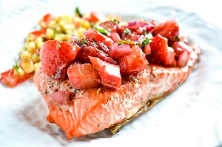 rabarbaro e salmone