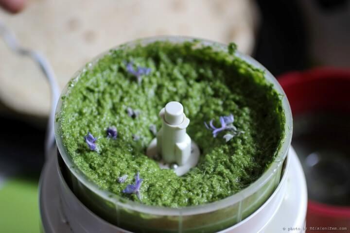 Ricette con le erbe spontanee: il pesto di piantaggine