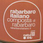 composta di rabarbaro italiano res naturae etichetta