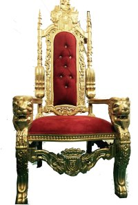 Throne Chair  Resnick's Rentals