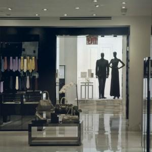Phot de l'intérieur d'un magasin de vêtements