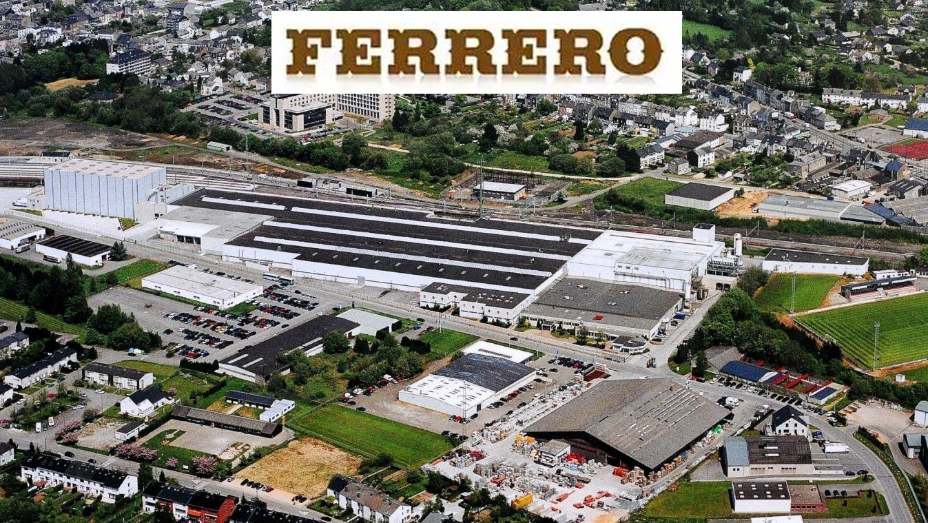 Ferrero - Usine d'Arlon