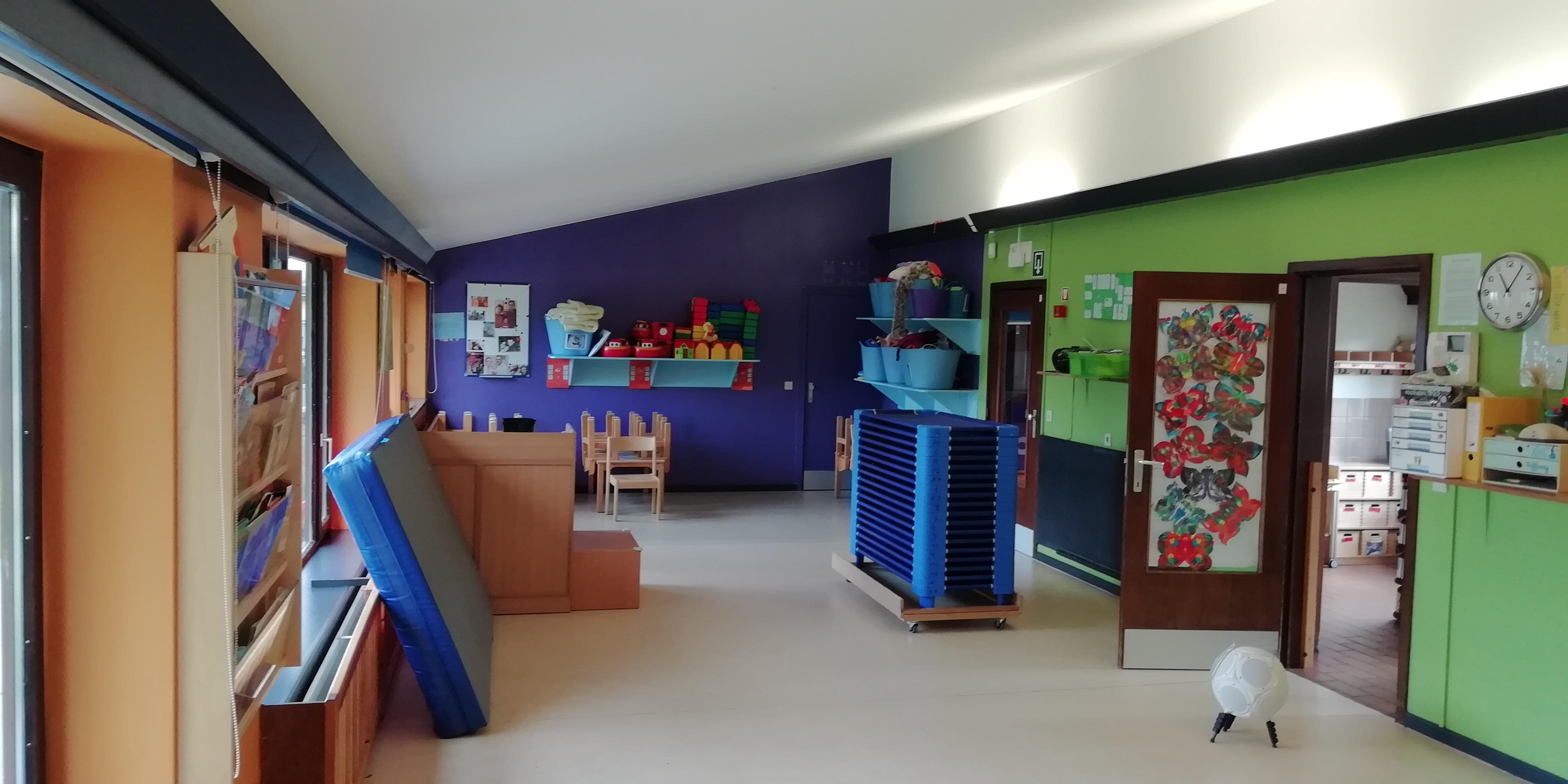 Service des petits de la crèche Communale de Grivegnée