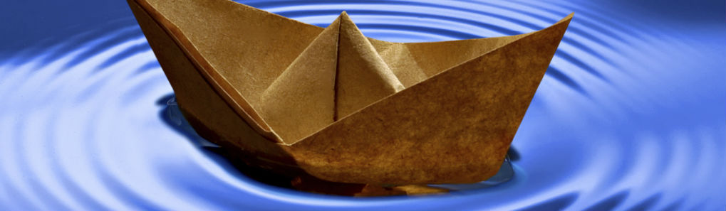 Paper Boat and Ripples