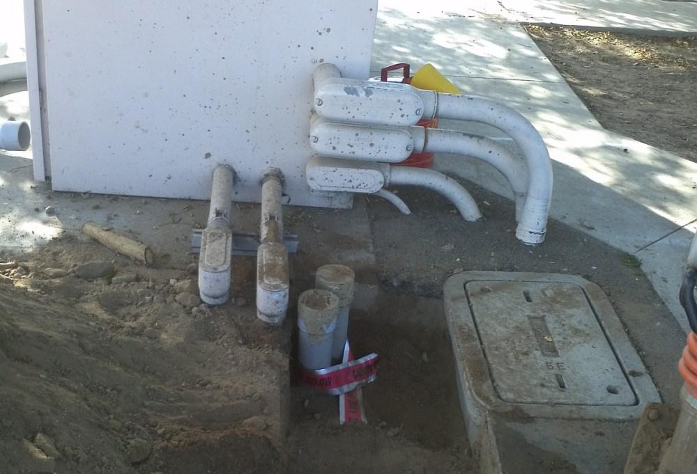 medium resolution of conduit installation underground electrical