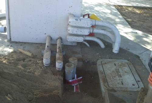 small resolution of conduit installation underground electrical