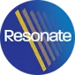 resonate main logo for tab view