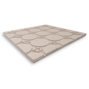 HEATDECK dry screed underfloor heating board with circles