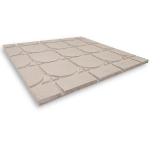 HEATDECK semi-retuns dry screed board