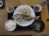 魚から揚げ定食。