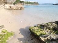 東館ビーチ 干潮時。
