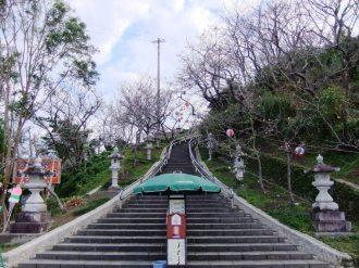 名護城公園の南口付近⑨