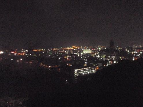 2014年 名護市夜景 名護城より。