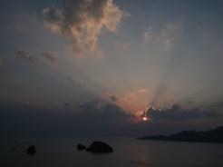 9/27の夕陽⑩