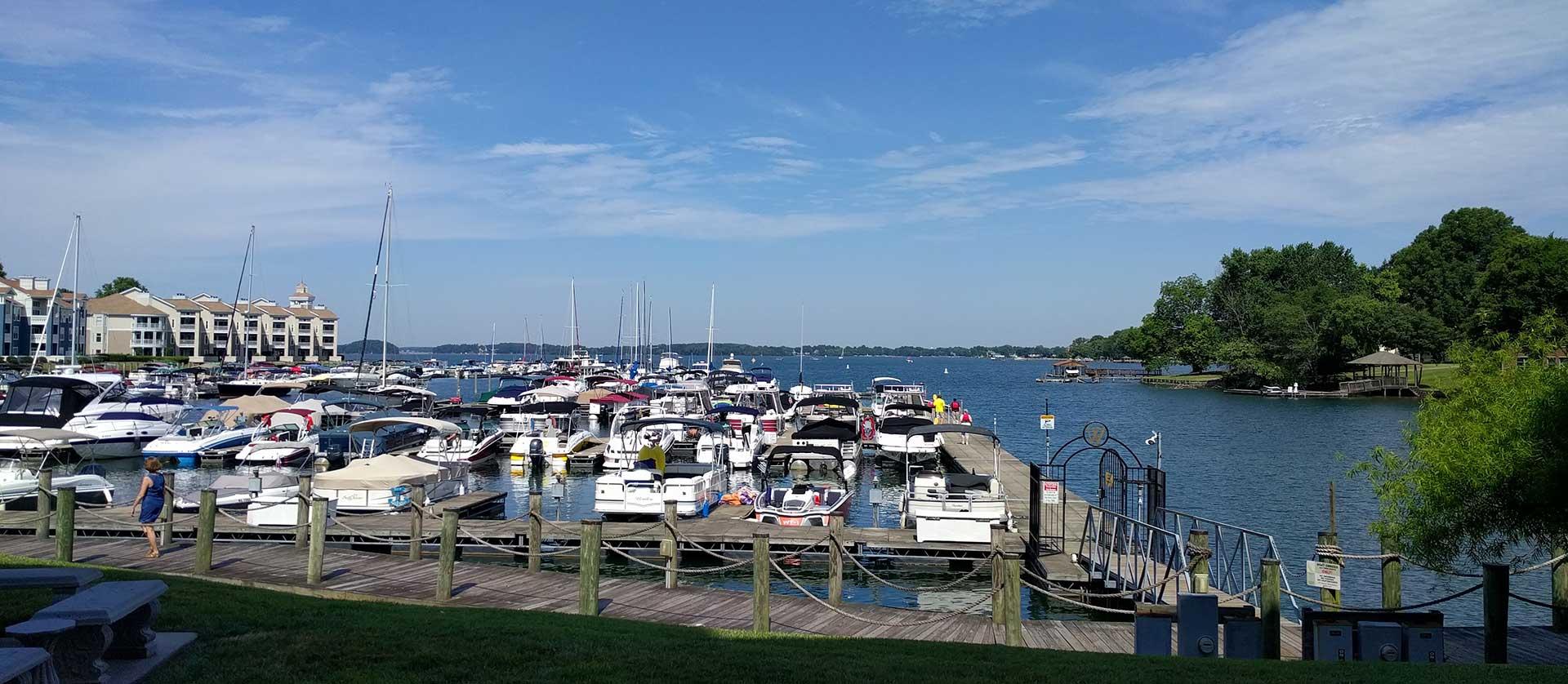 Freedom Boat Club  Lake Norman  Resort Cams