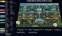 Hard Rock Punta Can a Resort Map