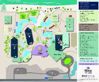 Resort Map Hilton Aruba Caribbean Resort Casino Aruba
