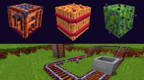 3D Blocks and Rails