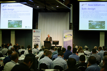 chair safety in design nsw next dining room covers 24th electrical engineering seminar resources and mr john hannaford of mine advisory council