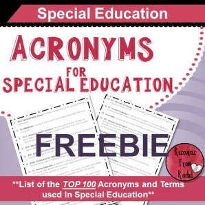 acronyms-for-special-education