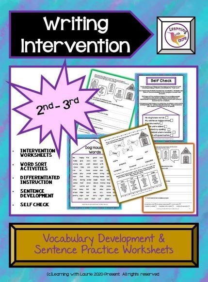 writing-intervention