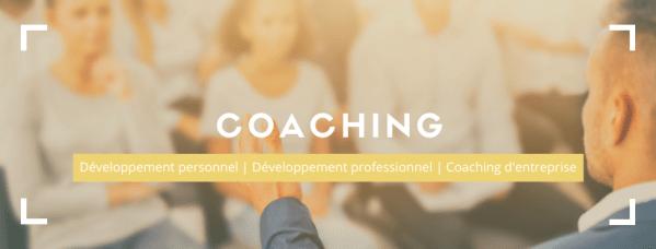 Coaching et accompagnement personnalisé en développement personnel, professionnel et organisationnel. Transformez votre vie, votre carrière, ou votre entreprise. Devenez plus performant à tous les niveaux.