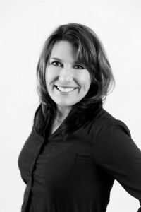 black and white headshot of Jill Crosser