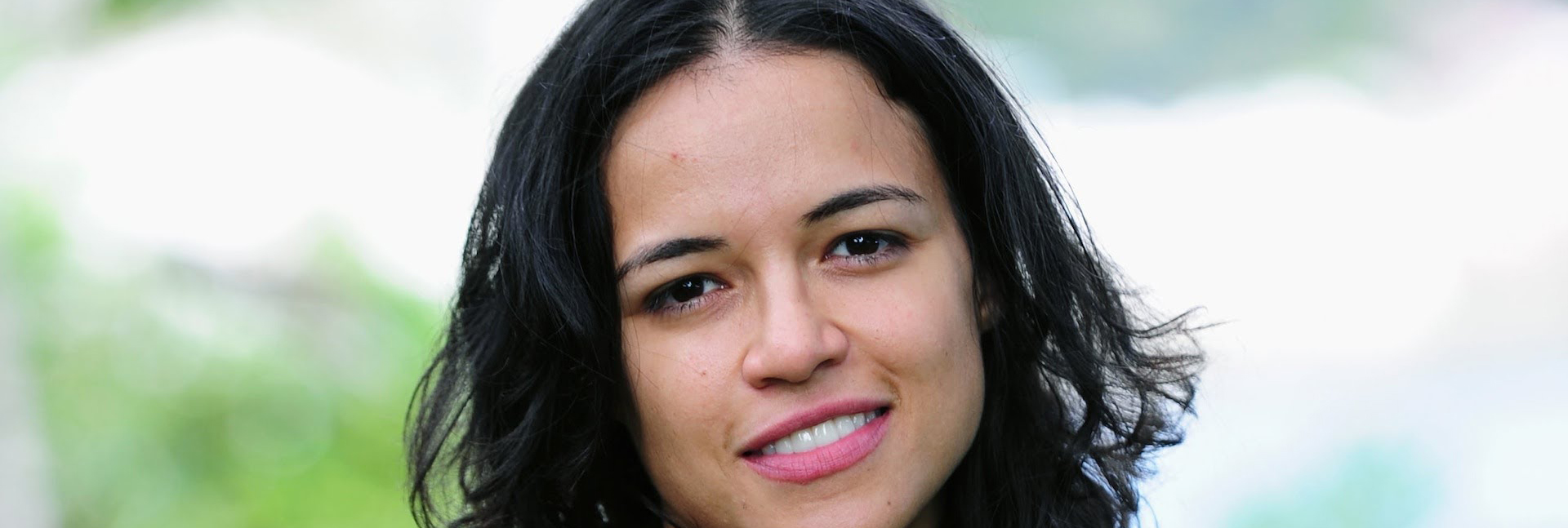 Michelle Rodriguez smiling