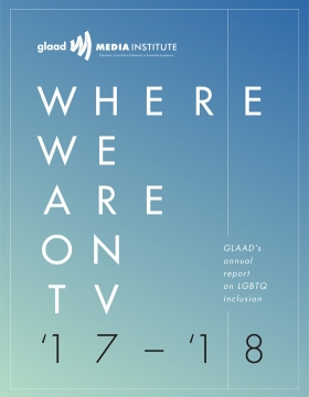 Where We Are on TV Report '17-'18 Cover