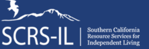 The logo for Southern California Resource Services for Independent Living