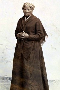 A portrait of Harriet Tubman