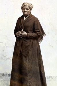 A portrait of Harriet Tubman