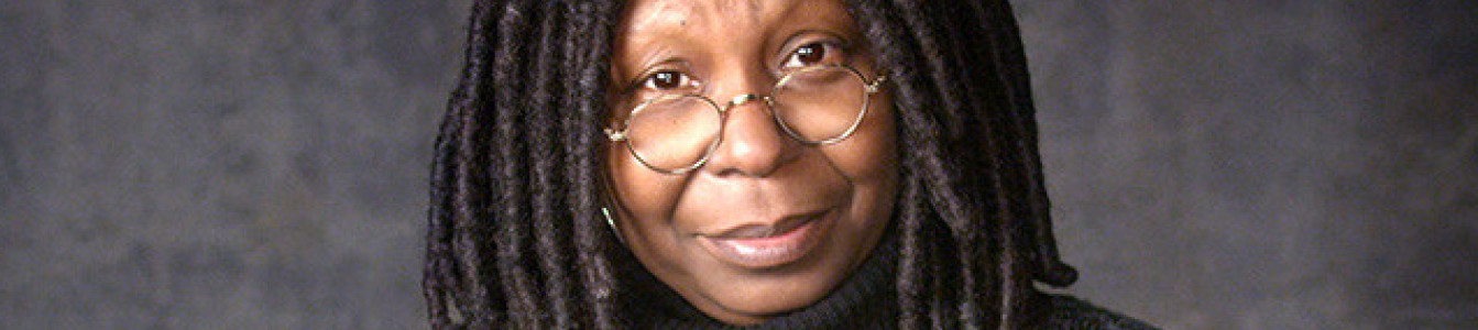 Close up of Whoopi Goldberg