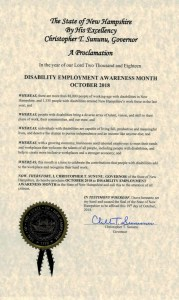 New Hampshire NDEAM proclamation