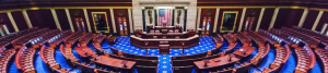 Empty U.S. House Chamber wideshot