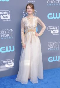 Millicent Simmonds on the Red Carpet at the Critic's Choice Awards