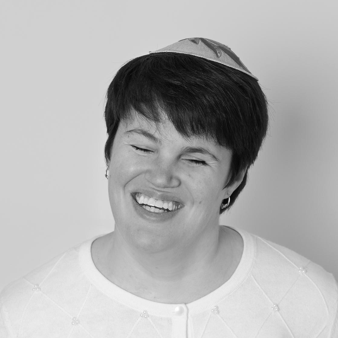 Rabbi Lauren Tuchman smiling headshot
