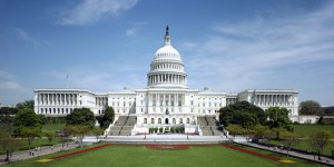 The western front of the United States Capitol