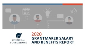 Cover art for 2020 Grantmaker Salary and Benefits Report from Council on Foundations