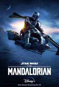 Poster for Star Wars The Mandalorian on Disney+