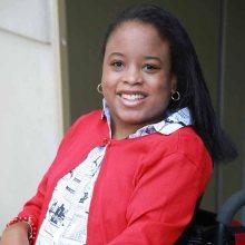 Ketrina Hazell smiling headshot
