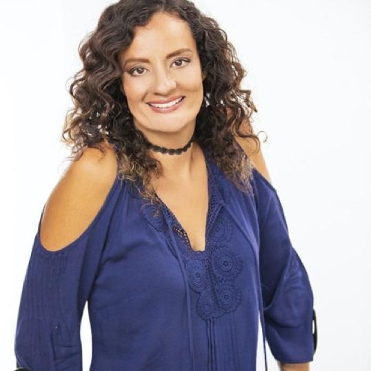 Diana Romero smiling headshot.