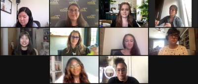 10 people with disabilities on a Zoom meeting together.