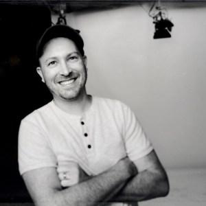 Jacob Lane headshot in a studio