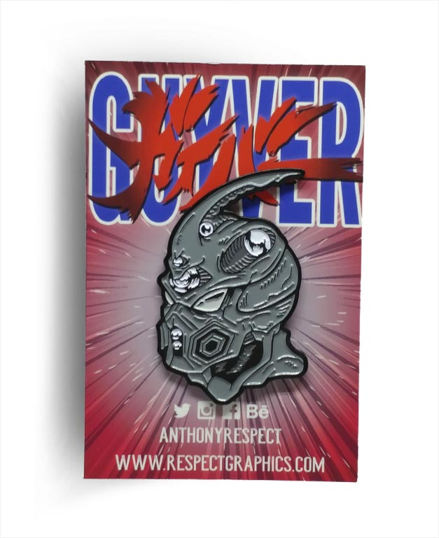 Bio Boosted Guyver Manga Limited Edition 80s Anime Enamel Pin By Respect