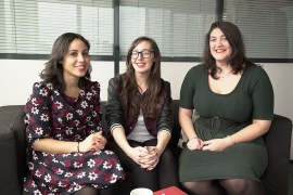 encontre avec Sarah Zouak et Justine Devillaine, de l'association féministe Lallab