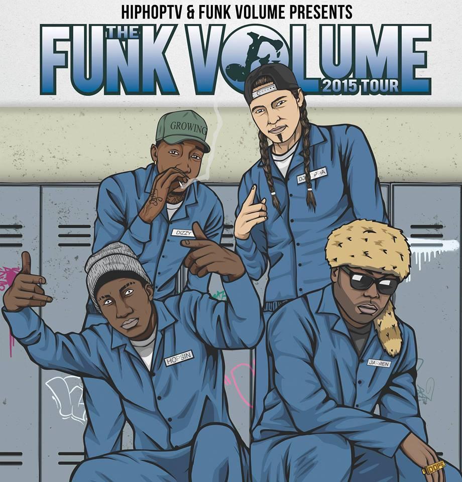 Funk Volume Tour