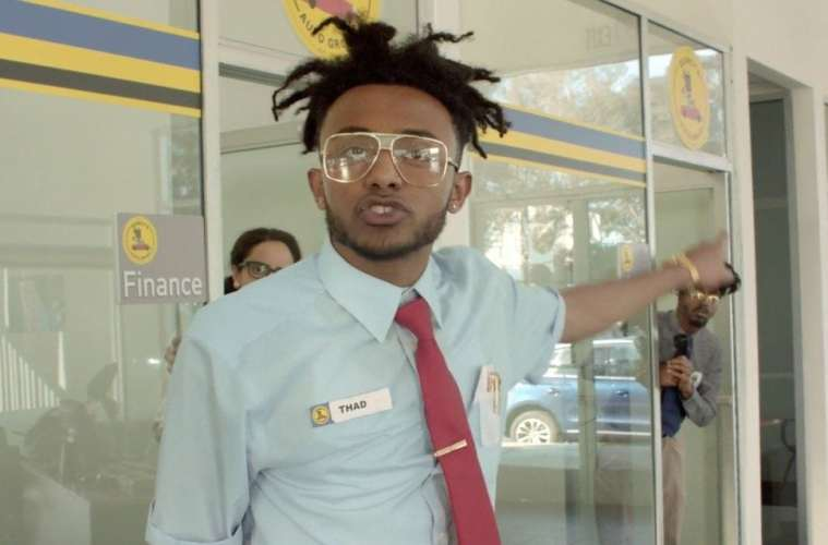 Aminé New Music Video 'REDMERCEDES'