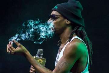 how much weed does snoop dogg -