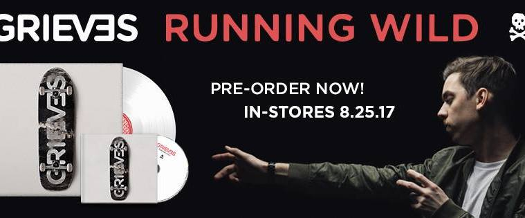 """Grieves Drops New Single 'RX' From Upcoming Album """"Running Wild'"""